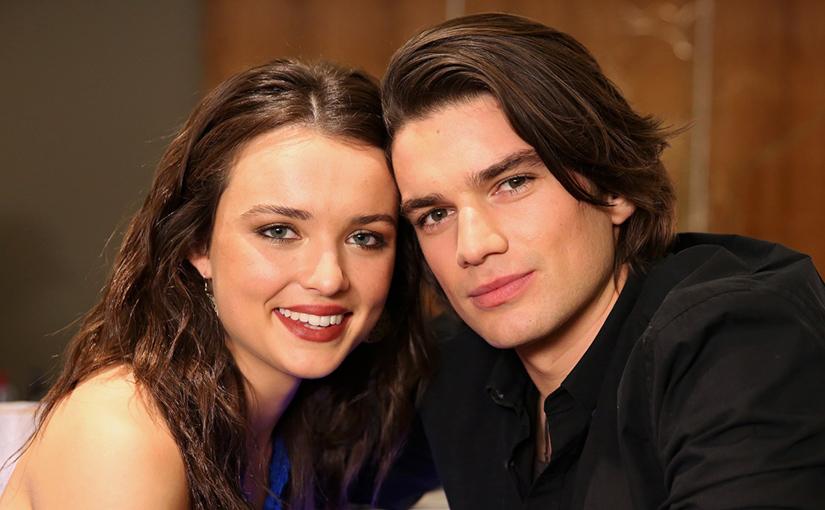 Evelyn (Philippa Northeast) and Josh.