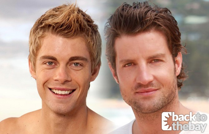 Axle Whitehead and Luke Mitchell Reunited