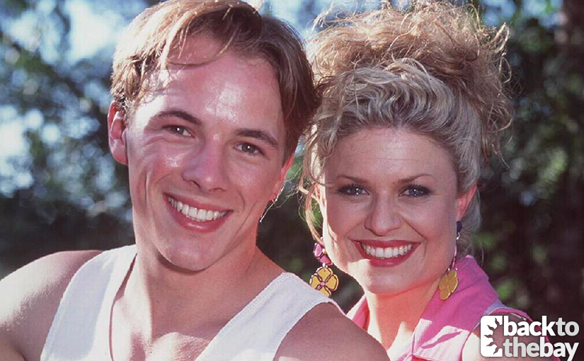 Shane (Dieter Brummer) and Marilyn (Emily Symons).
