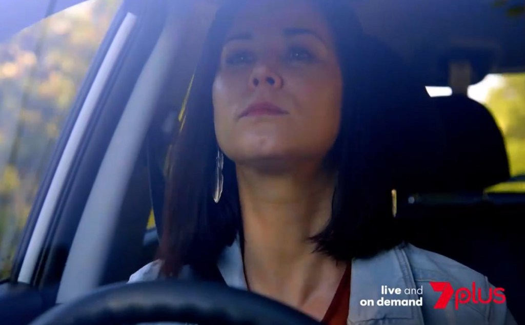 Maggie almost runs over Ben in latest Home and Away spoilers