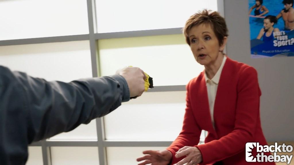 Susan gets caught up in drug drama at Erinsborough High