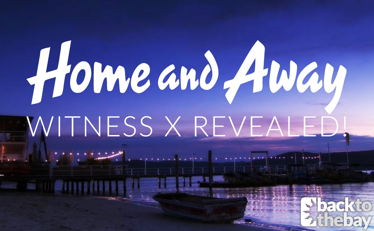 Home and Away reveals the identity of Witness X!
