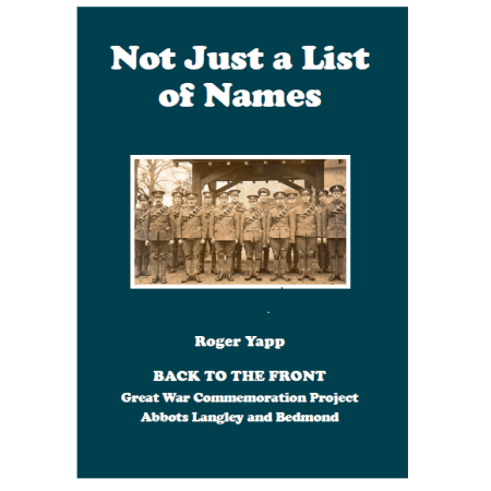 """Not Just a List of Names"" – confirming pre-orders"