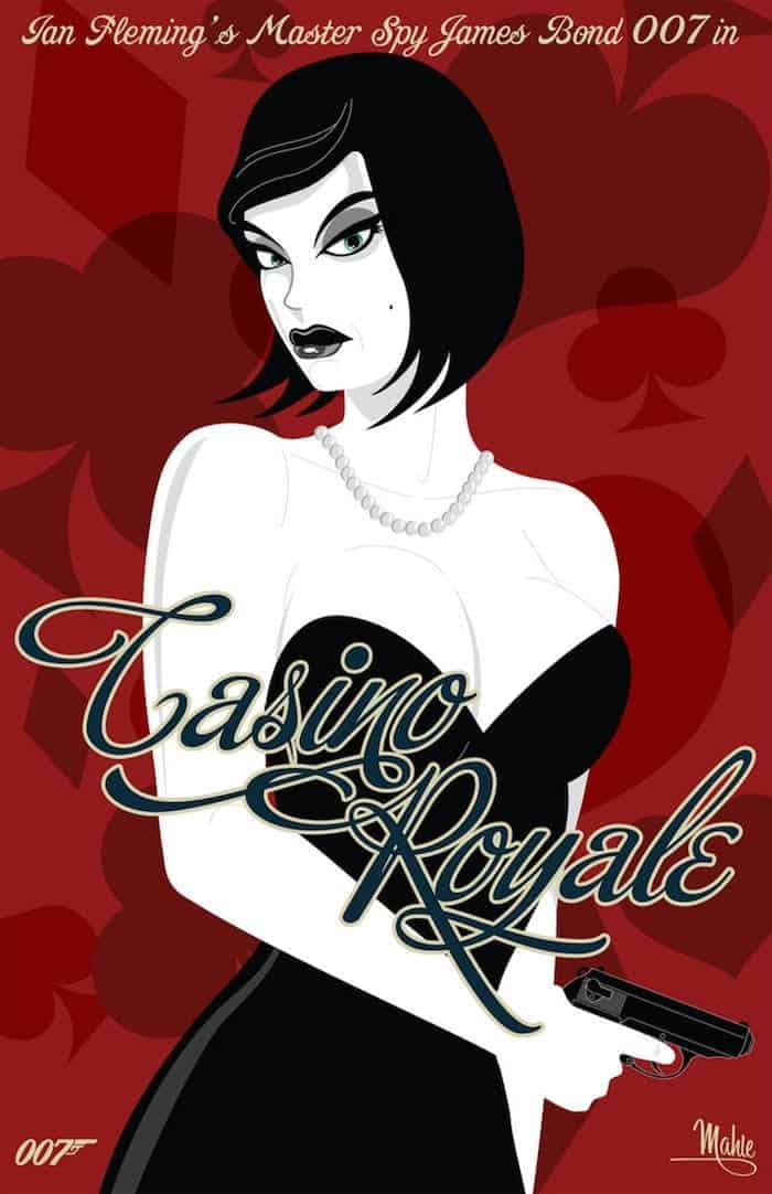 casino royale movie posters collection