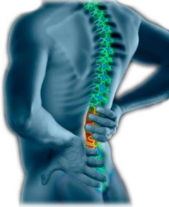 Back pain and stress