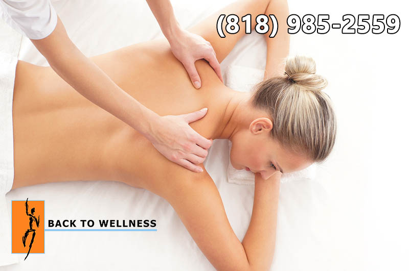 a Back Massage In Studio City
