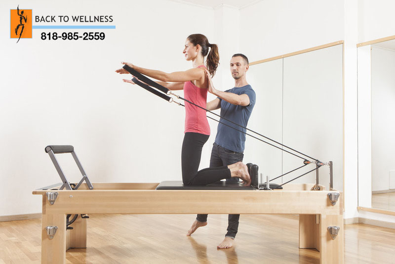 Pilates Exercises in Encino