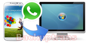Backup WhatsApp Messages from Android to Computer