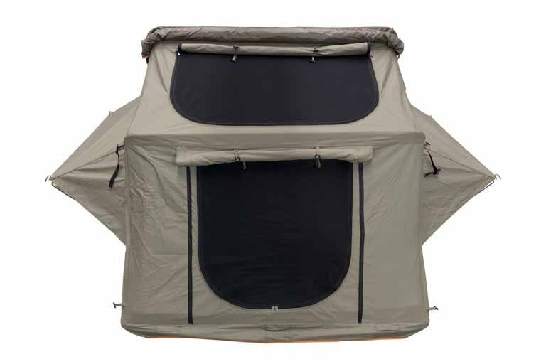 Roof Top Tent 65 Inch W/Annex Khaki 1600 Hi View Series Darche  sc 1 st  Backwoods Overland : tent top view - memphite.com