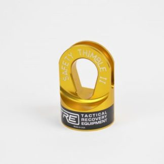 Safety Thimble II Winch SafetyThimble Yellow TRE-Tactical Recovery Equipment