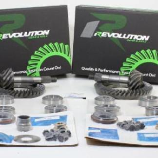 Toyota V6 4.56 IFS Gear Pkg 86-89 Front and Rear (8/7.5) w/Koyo Master Kits Revolution Gear