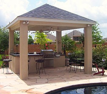 outdoor kitchen covered patio designs The Best Covered Outdoor Kitchen Ideas and Designs