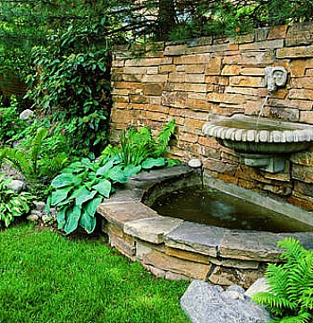 The Best Backyard Water Feature Will Add Interest and Beauty on Backyard Feature Walls  id=54339
