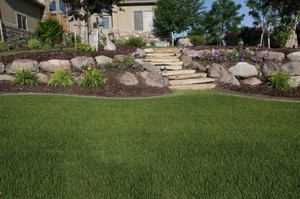 Ideas for Landscaping A Hill | Tips to Control Erosion on ... on Hill Backyard Ideas id=95083