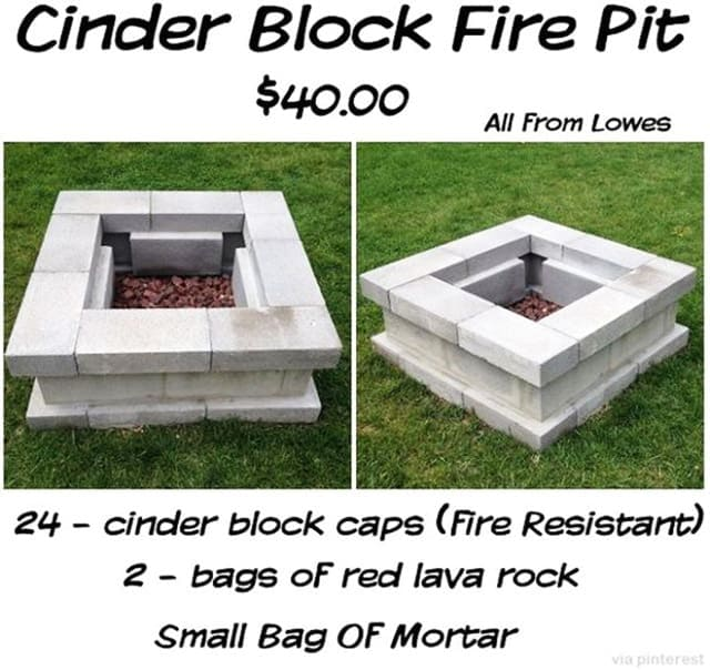 Easy Diy Outdoor Fire Pit