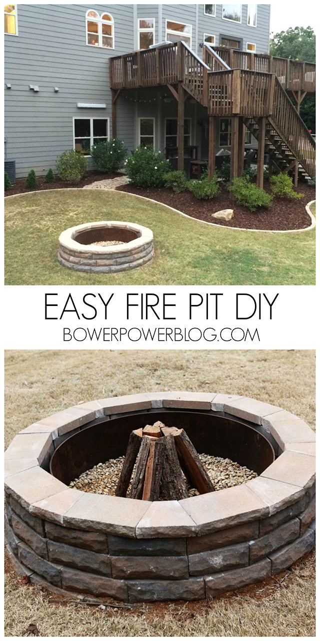 27 Surprisingly Easy DIY BBQ Fire Pits Anyone Can Make on Diy Outdoor Fire  id=76433