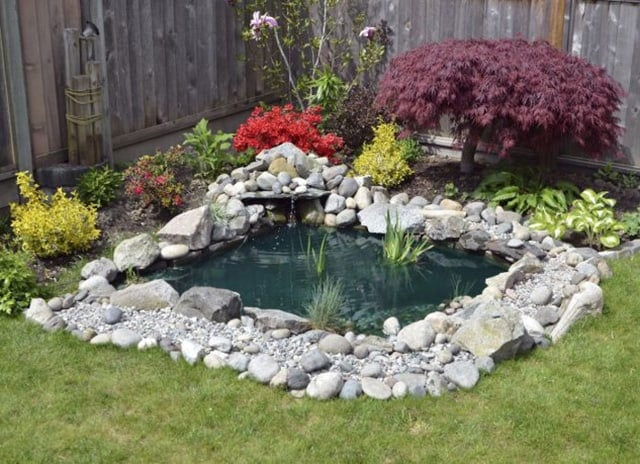73 Backyard and Garden Pond Designs And Ideas on Backyard Pond Landscaping Ideas id=91444