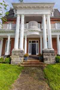 71 Front Porch Designs And Ideas For Breathtaking Entryways Imposing columns on this heritage house leads the way to the small front  porch and through to the beautiful second story  This upper level porch is  truly