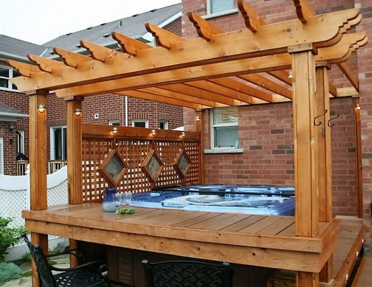 65 Epic Hot Tub Deck Plans: Ideas for Everyone! on Deck And Hot Tub Ideas  id=51572