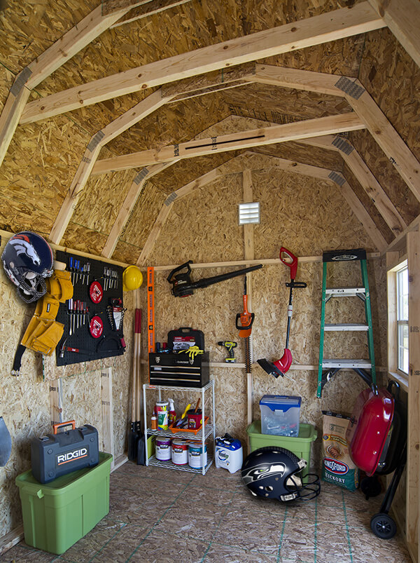 How to Turn Your Shed into a Man Cave for Super Bowl Sunday on Man Cave Patio Ideas  id=21777