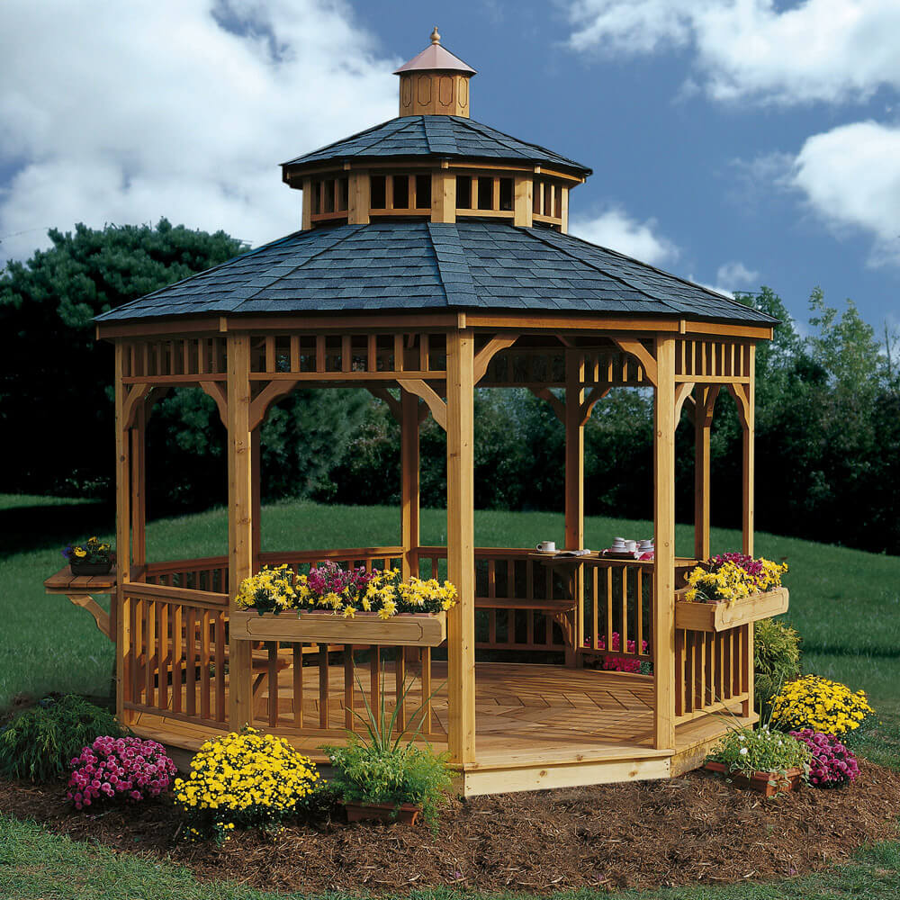 Tips to Make a Gazebo the Perfect Setting for a Winter Wedding on Outdoor Patio Pavilion id=31661