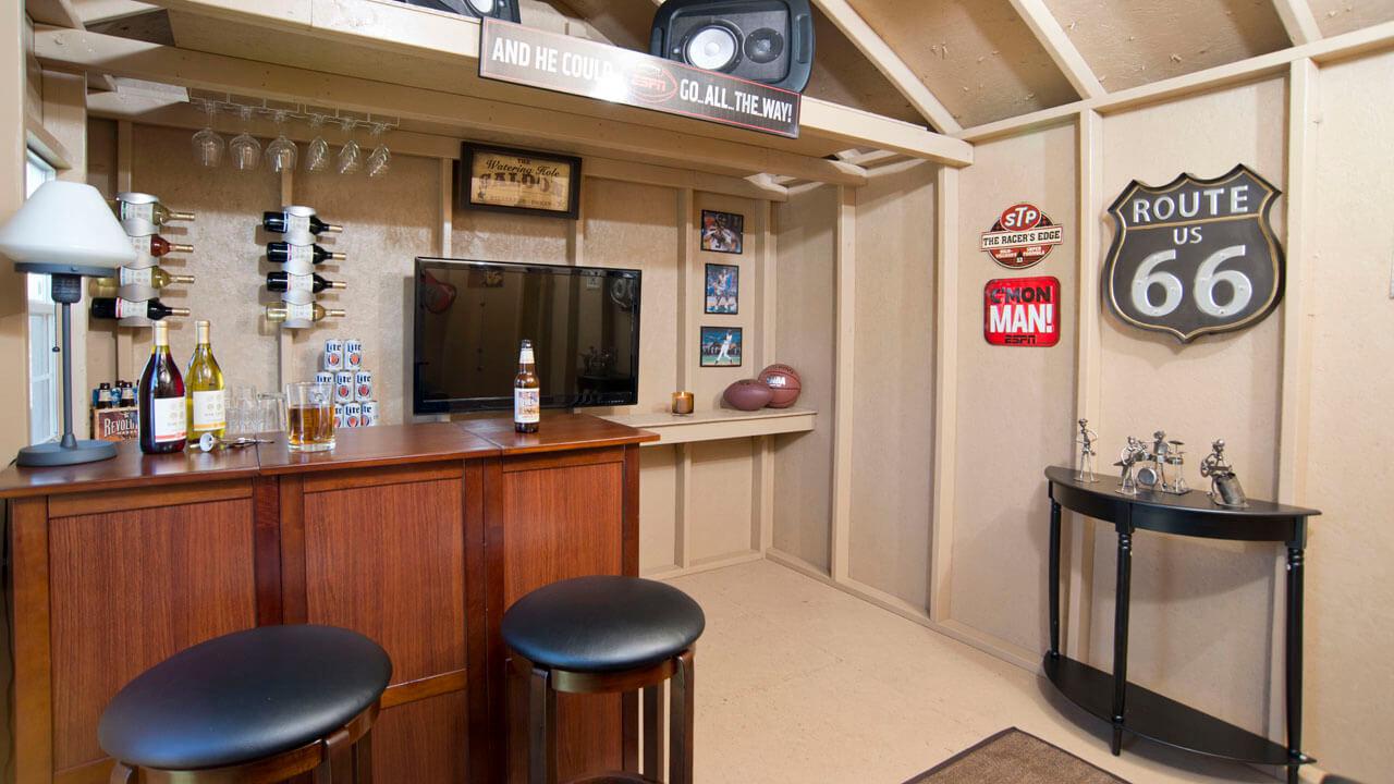 Backyard Bar Shed Ideas on Man Cave Patio Ideas id=65640