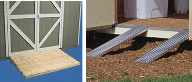 How To Build A Small Shed Ramp, Hints…