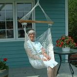 Earth Friendly Hammock Swing