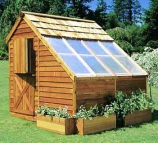 Cedar Garden Shed
