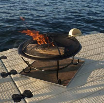 Deck Protect Fire Pit / Grill Matt