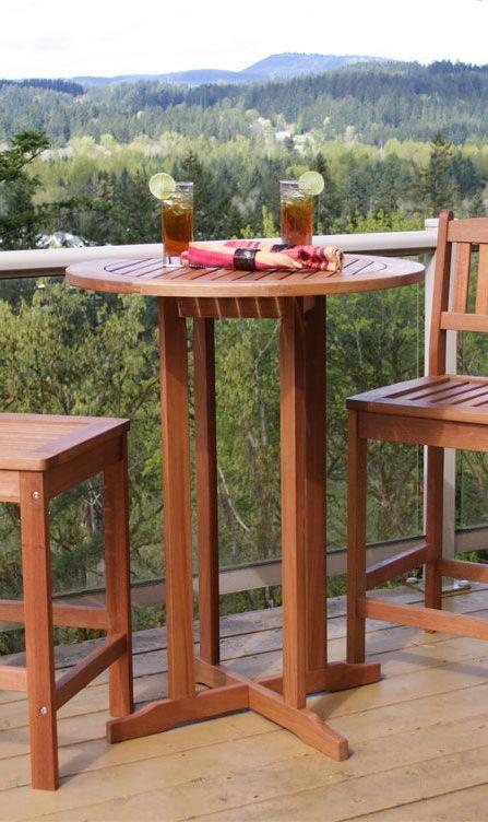 Eucalyptus Terrace Table Hardwood Outdoor Furniture