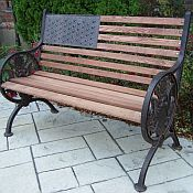 Outdoor American Bench