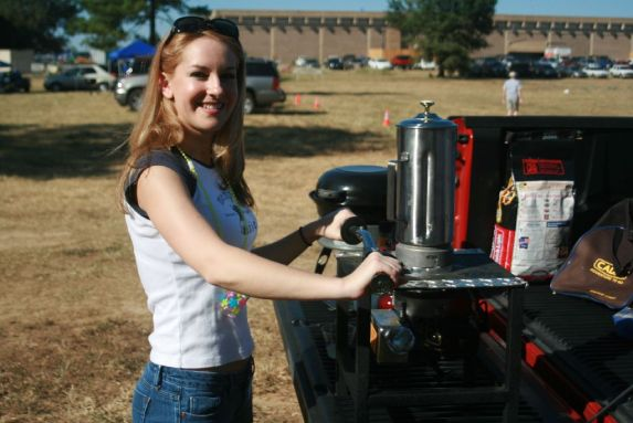 Tailgate Party Blender and CADAC portable Grill