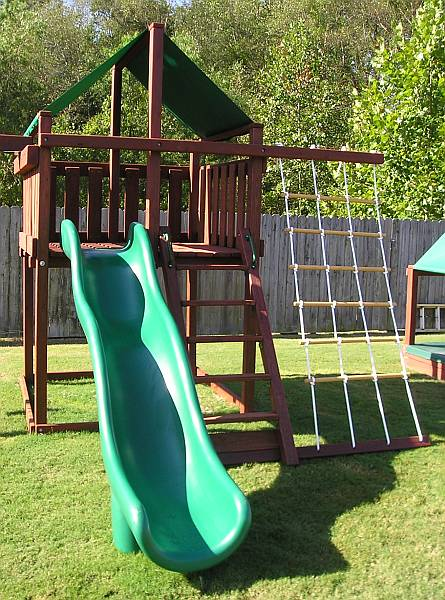 before your new backyard swing set this spring make sure to think carefully about where the best and safest location will be for the