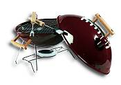 Portable Football Grill