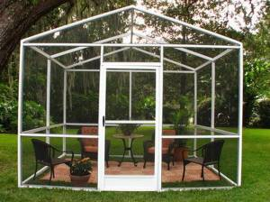 A Screened Enclosure You Can Afford - Outdoor Patio Ideas on Patio Enclosures Ideas  id=50240