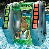 Starfighter Pool Float with Squirt Gun