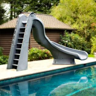 Cool Home Pool Slides Water Best For Sale Build Your Own ...