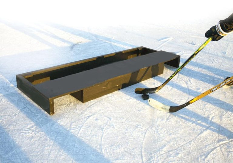 Build an Official USPHC Pond Hockey Goal