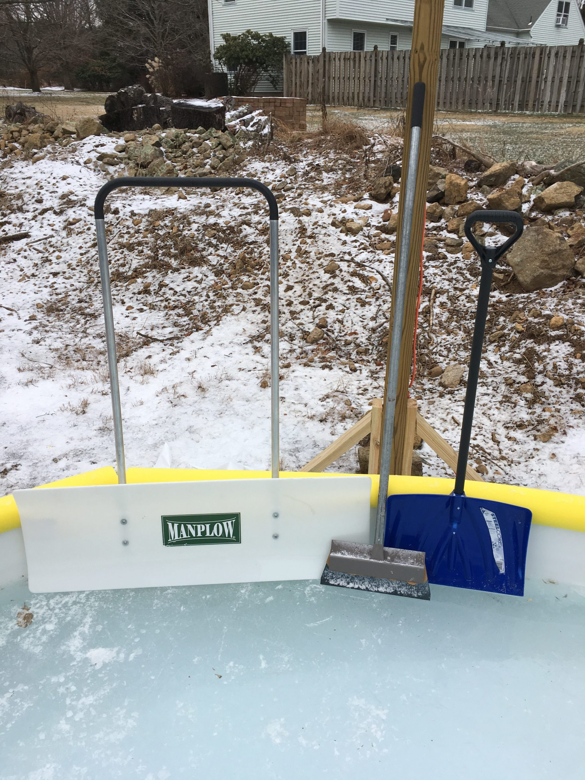Tools for the Rink   Backyard Ice Rinks