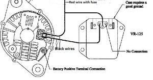 Wire splice location on ignition to field wire '87 GLHS