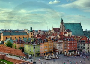HDR image of Warsaw
