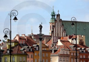 Entrance to Warsaw Old Town