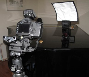 Equipment used for focus stacking