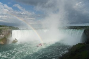 Canadian or Horseshoe Falls at Niagara