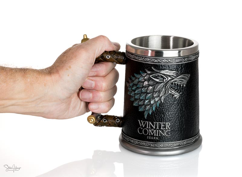 Official Winter is Coming Stark tankard from Game of Thrones ser