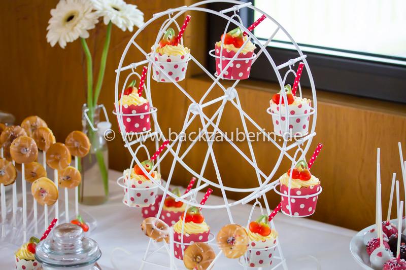 Milchshake-Cupcakes im Riesenrad