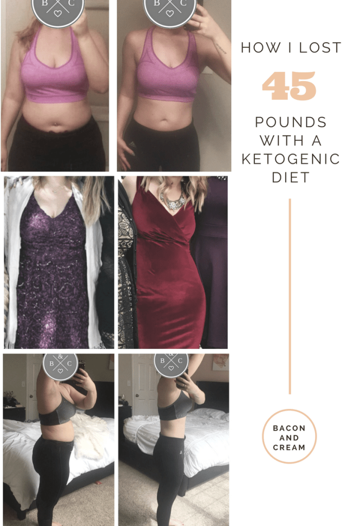How I lost 45 lbs on a keto diet