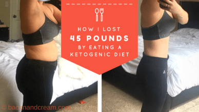 How to lose 45 pounds on keto