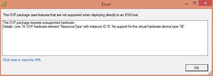 hardware error